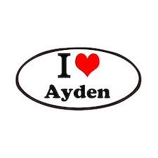 I Love Ayden Patch