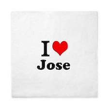 I Love Jose Queen Duvet