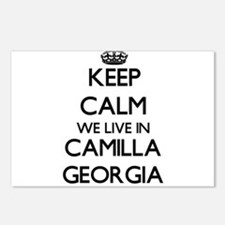 Keep calm we live in Cami Postcards (Package of 8)