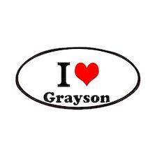 I Love Grayson Patch