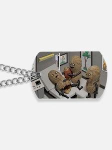 Funny Peanut  Dog Tags
