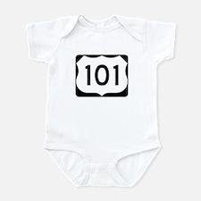US Route 101 Infant Bodysuit