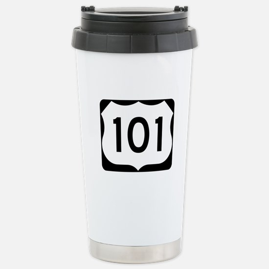 US Route 101 Stainless Steel Travel Mug