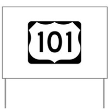 US Route 101 Yard Sign