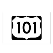 US Route 101 Postcards (Package of 8)