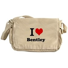 I Love Bentley Messenger Bag