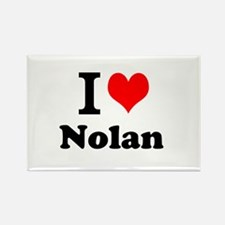 I Love Nolan Magnets