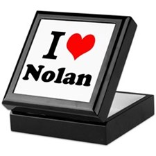I Love Nolan Keepsake Box