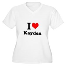 I Love Kayden Plus Size T-Shirt