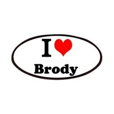 I Love Brody Patch