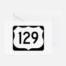 US Route 129 Greeting Cards (Pk of 10)