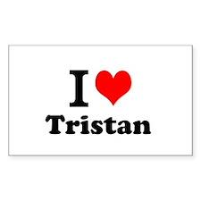 I Love Tristan Decal