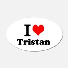 I Love Tristan Wall Decal