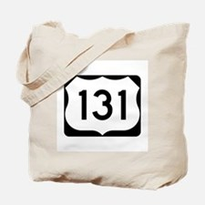 US Route 131 Tote Bag
