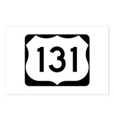 US Route 131 Postcards (Package of 8)