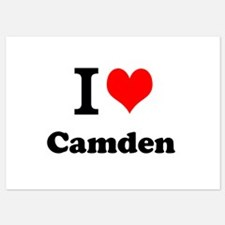 I Love Camden Invitations