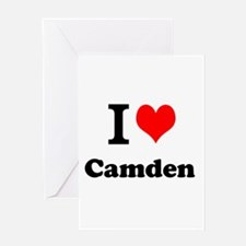 I Love Camden Greeting Cards