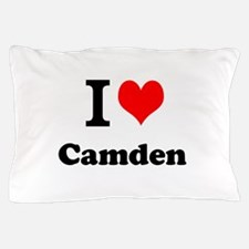 I Love Camden Pillow Case