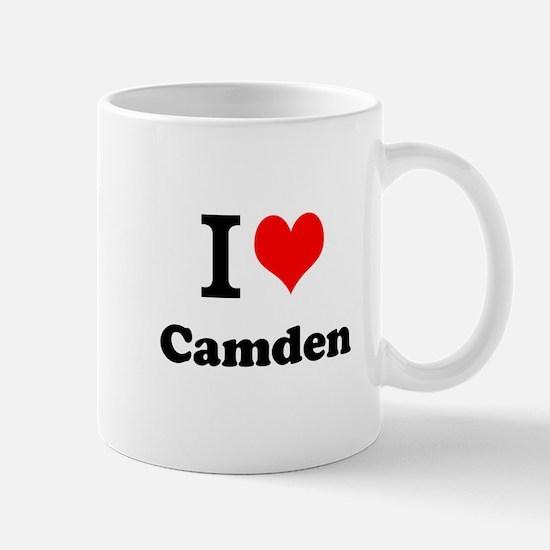 I Love Camden Mugs