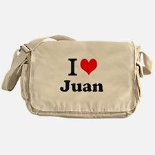I Love Juan Messenger Bag