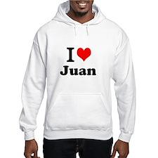 I Love Juan Hoodie