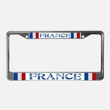 """France Flag"" License Plate Frame"