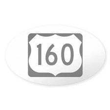 US Route 160 Decal