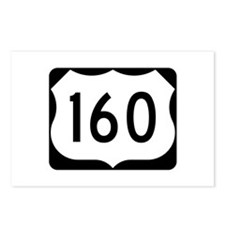 US Route 160 Postcards (Package of 8)
