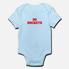 ROCKETS-Fre red Body Suit