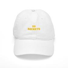 Rockets-Fre yellow gold Baseball Baseball Cap