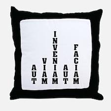 """""""Aut Viam Inveniam"""" Throw Pillow"""