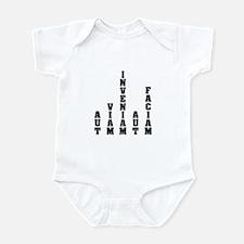 """""""Aut Viam Inveniam"""" Infant Bodysuit"""