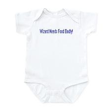 Wizard Needs Food Infant Bodysuit