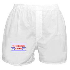 Veterinarian In Training Boxer Shorts