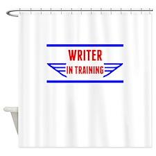 Writer In Training Shower Curtain