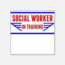 Social Worker In Training Sticker