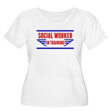 Social Worker In Training Plus Size T-Shirt