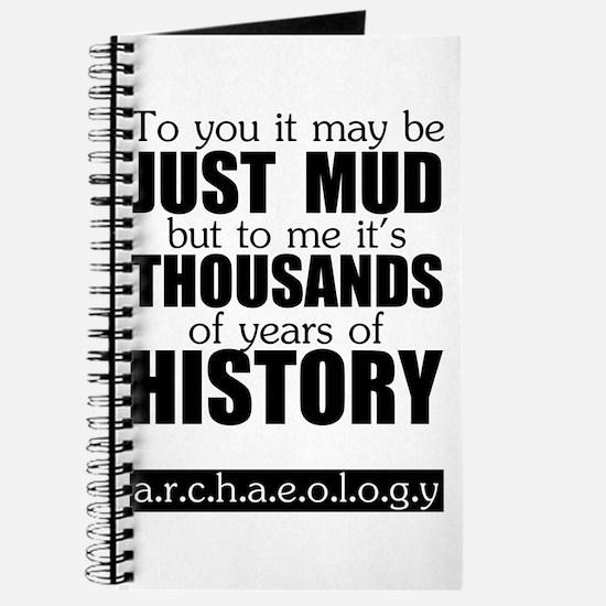 Just Mud? Journal