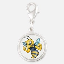 YELLOW JACKET HORNET Charms