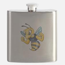 YELLOW JACKET HORNET Flask