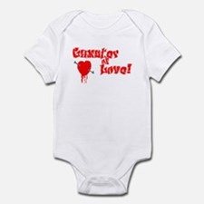 Gangster of Love Style 2 Infant Bodysuit