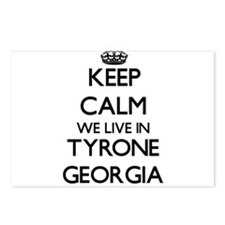 Keep calm we live in Tyro Postcards (Package of 8)