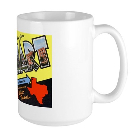 Dalhart Texas Greetings Large Mug