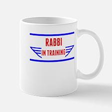 Rabbi In Training Mugs