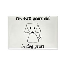 94 dog years 6 - 2 Magnets