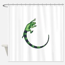 IGUANA LIZARD Shower Curtain