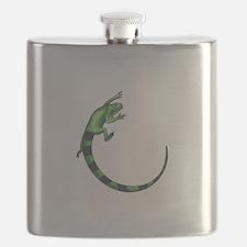 IGUANA LIZARD Flask