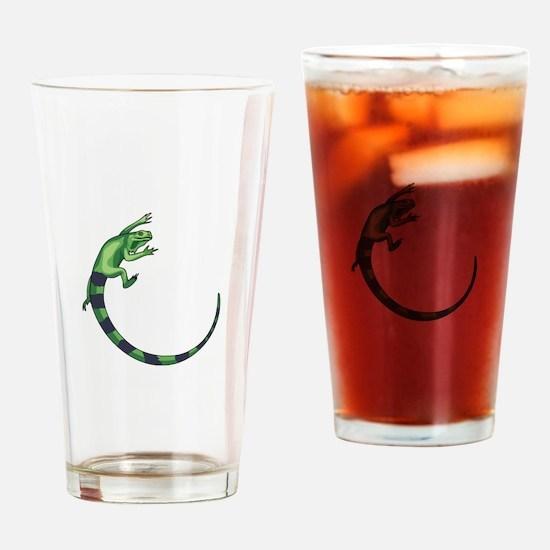 IGUANA LIZARD Drinking Glass