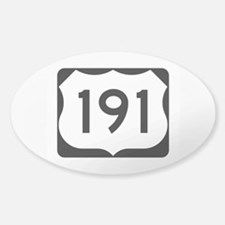 US Route 191 Decal