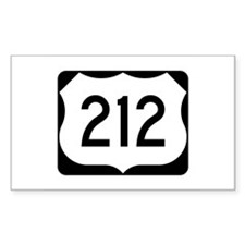US Route 212 Decal